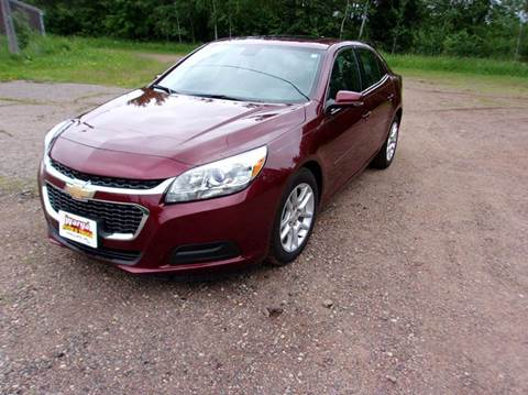 2016 Chevrolet Malibu Limited for sale in Phillips WI
