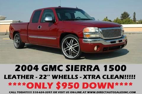 2004 GMC Sierra 1500 for sale in Hayward, CA