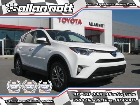 2018 Toyota RAV4 Hybrid for sale in Lima, OH