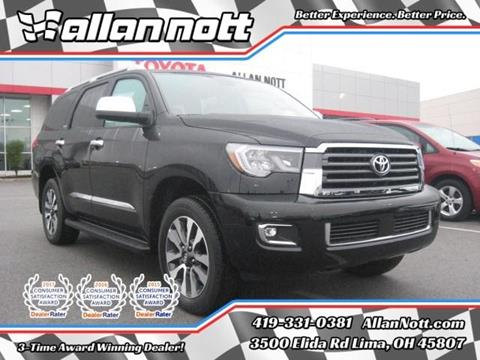 2018 Toyota Sequoia for sale in Lima, OH