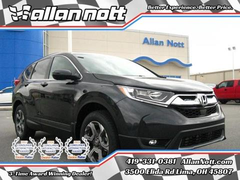 2017 Honda CR-V for sale in Lima, OH