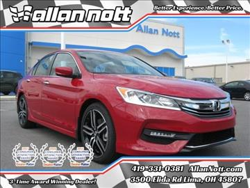2017 Honda Accord for sale in Lima, OH