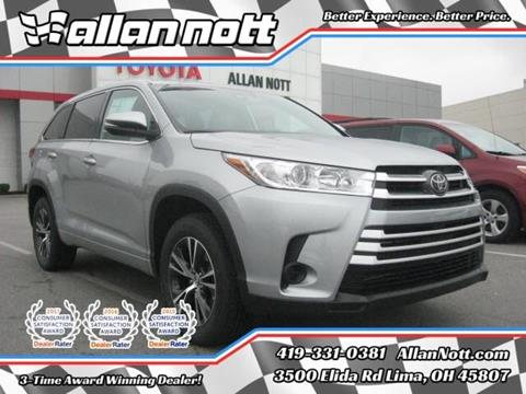 2018 Toyota Highlander for sale in Lima, OH