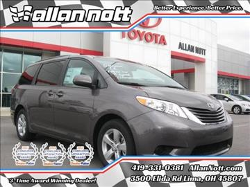 2017 Toyota Sienna for sale in Lima, OH