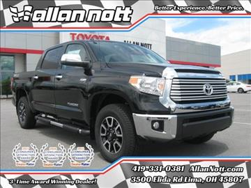 2017 Toyota Tundra for sale in Lima, OH