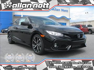 2017 Honda Civic for sale in Lima, OH