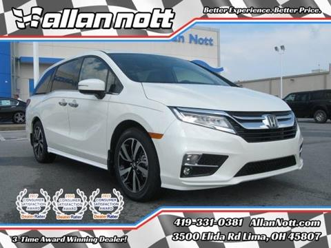 2018 Honda Odyssey for sale in Lima, OH