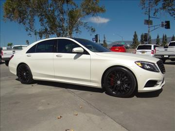 2015 Mercedes-Benz S-Class for sale in San Bernardino, CA