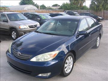 2004 Toyota Camry for sale in Pompano Beach, FL