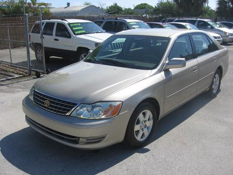 2003 Toyota Avalon for sale in Pompano Beach, FL