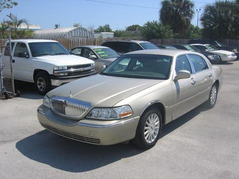 lincoln town car for sale in florida. Black Bedroom Furniture Sets. Home Design Ideas