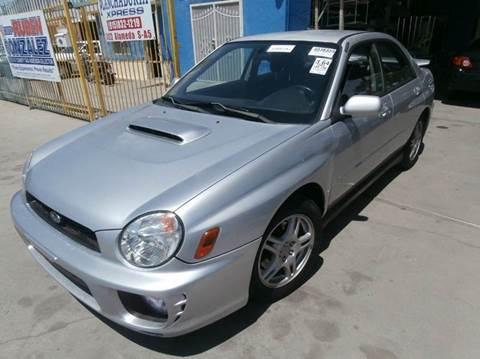 2003 Subaru Impreza for sale in El Paso, TX