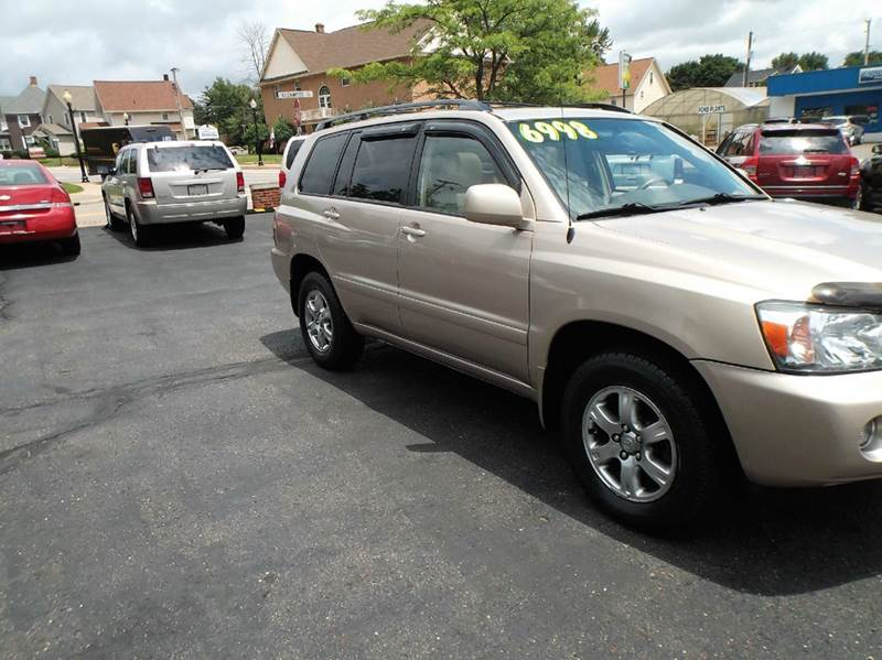 2005 Toyota Highlander AWD Limited 4dr SUV w/3rd Row - North Canton OH