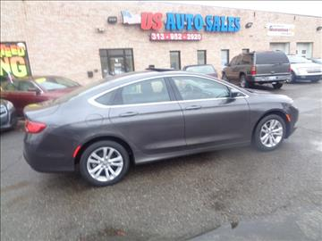 2015 Chrysler 200 for sale in Redford, MI