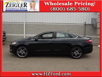 2014 Ford Fusion for sale in Plainwell, MI
