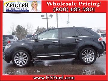 2015 Lincoln MKX for sale in Plainwell, MI