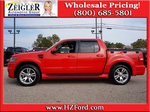 2009 Ford Explorer Sport Trac for sale in Plainwell, MI