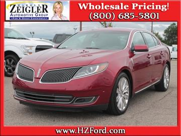 2014 lincoln mks for sale michigan. Black Bedroom Furniture Sets. Home Design Ideas