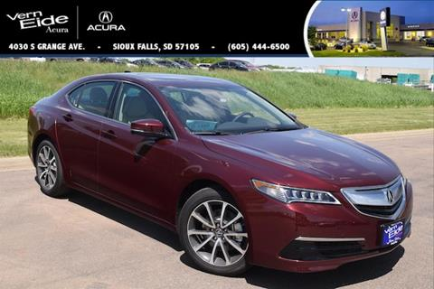 2016 Acura TLX for sale in Sioux Falls, SD