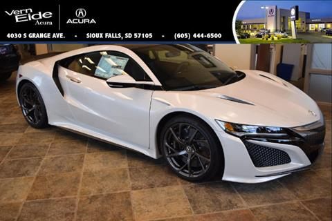 2017 Acura NSX for sale in Sioux Falls, SD
