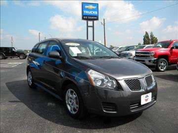 2009 Pontiac Vibe for sale in Snyder, TX