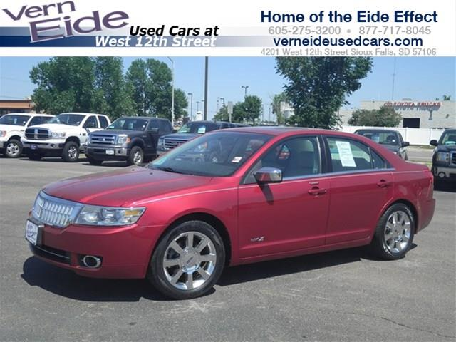 2008 LINCOLN MKZ for sale in SIOUX FALLS SD