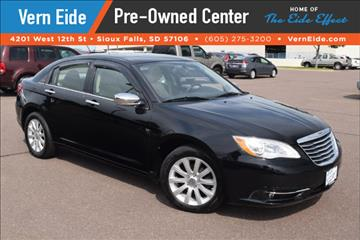 2013 Chrysler 200 for sale in Sioux Falls, SD