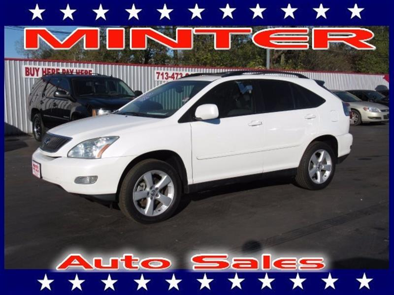 2006 LEXUS RX 330 BASE 4DR SUV white 2 front2 rear assist grips10-way driver8-way passenge