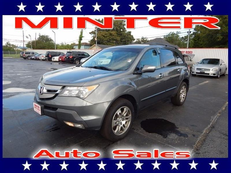 2008 ACURA MDX SH AWD 4DR SUV nimbus gray metallic 10 cup holders3 12 volt pwr outlets2nd r