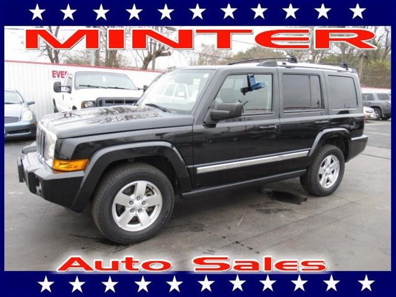 2008 JEEP COMMANDER LIMITED 4X2 4DR SUV