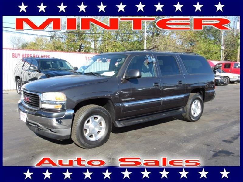 2005 GMC YUKON XL 1500 SLT 4DR SUV gray 3rd row seat7 passenger seatingair conditioning tri-zo