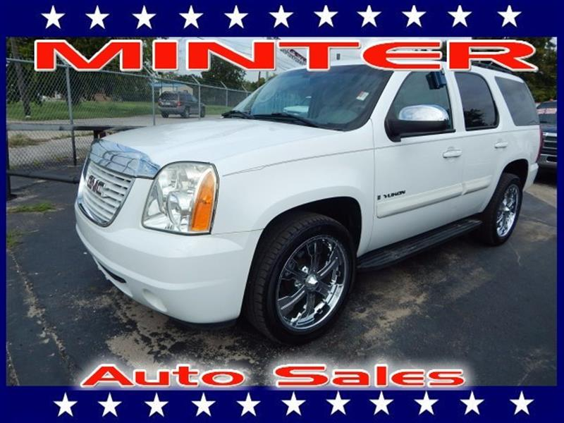 2007 GMC YUKON 2WD 1500 SLE summit white air conditioning dual-zone manual climate control with