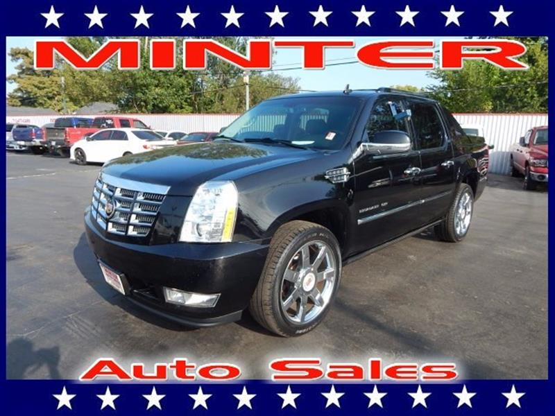 2013 CADILLAC ESCALADE EXT PREMIUM AWD 4DR PICKUP black raven climate control dual-zone automatic