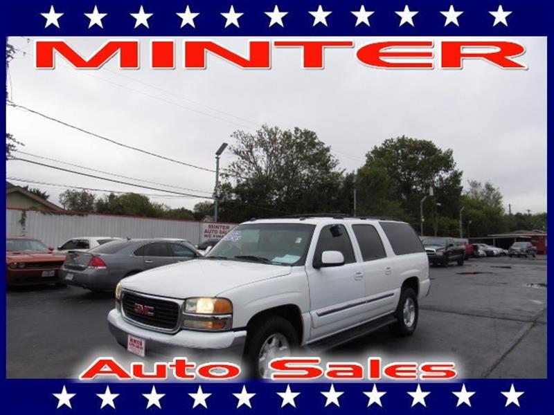 2004 GMC YUKON XL 1500 SLE 4DR SUV summit white air conditioning tri-zone manual individual cl