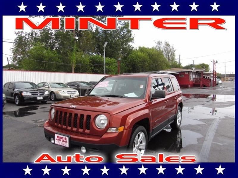 2012 JEEP PATRIOT LATITUDE 4DR SUV copperhead pearl 115v aux pwr outlet120 mph speedometer12v p