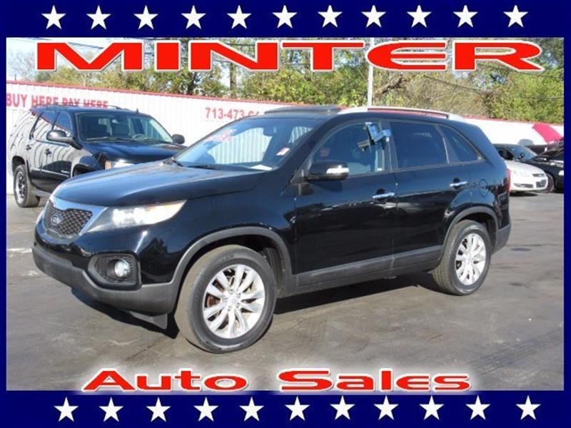 2011 KIA SORENTO LX 4DR SUV V6 ebony black 3rd row 5050 split-folding seat3rd row seat7 pass