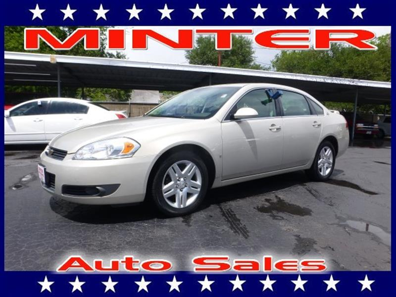 2008 CHEVROLET IMPALA LT 4DR SEDAN W2LT gold mist metallic 5 passenger seatingair conditioning