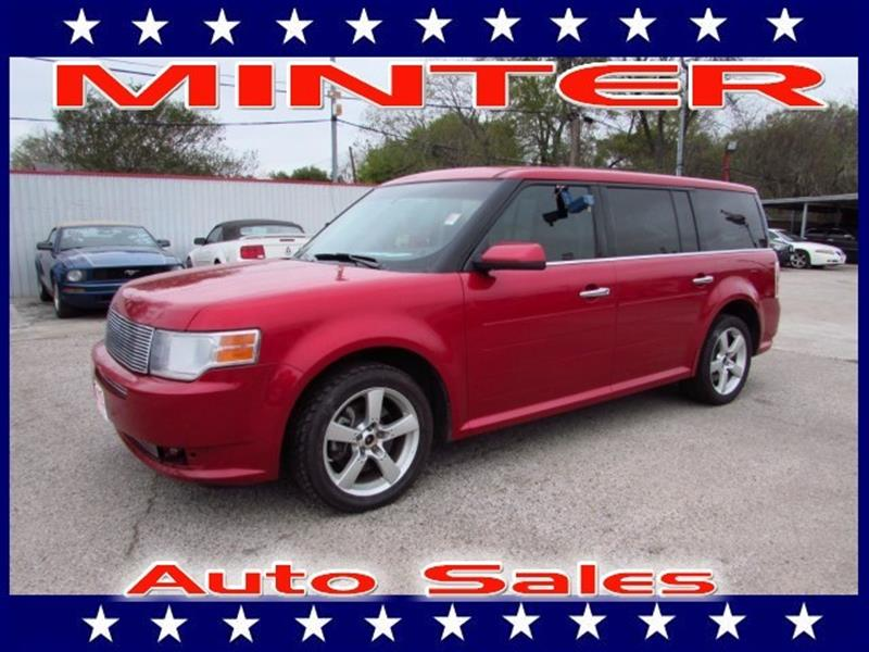 2010 FORD FLEX SEL 4DR CROSSOVER red candy metallic 10 cup holders3 12v pwr outlets3 roof