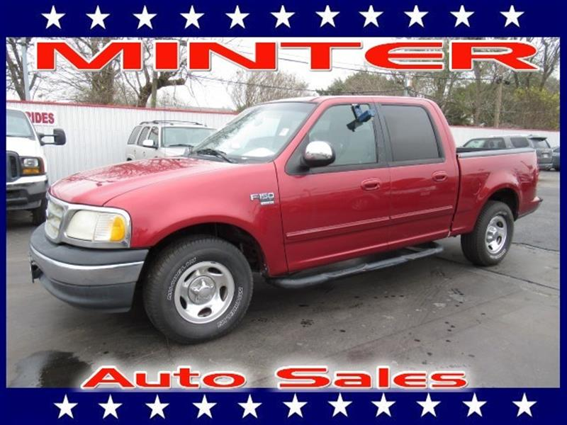 2001 FORD F-150 2WD SUPERCREW STYLESIDE 5-1/2 FT