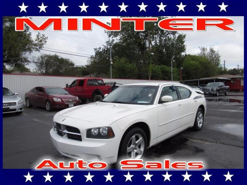 2010 DODGE CHARGER SXT 4DR SEDAN bright white 140-mph speedometer6040 rear folding seat8-way p
