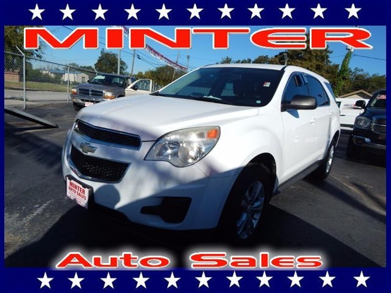 2010 CHEVROLET EQUINOX LS 4DR SUV summit white air conditioning single-zone manual climate contr