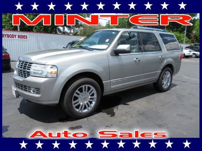 2008 LINCOLN NAVIGATOR BASE 4DR SUV vapor silver metallic 4 assist handles4 coat hooks8 c