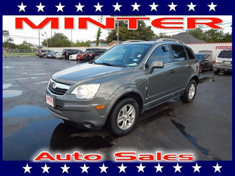 2009 SATURN VUE XE 4DR SUV gray air conditioning single-zone manual climate controlassist handl