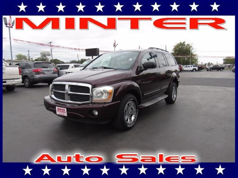 2004 DODGE DURANGO LIMITED 4WD 4DR SUV deep molten red pearl 2nd row 402040 reclining split ben