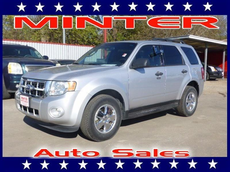 2010 FORD ESCAPE XLT 4DR SUV ingot silver metallic 2nd row 6040 split bench seat -inc tip-fold-