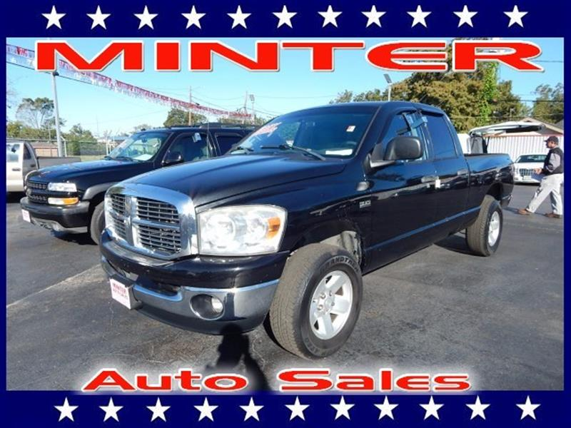 2008 DODGE RAM PICKUP 1500 2WD QUAD CAB 63 FT BOX ST cool vanilla 12v pwr outletair conditionin