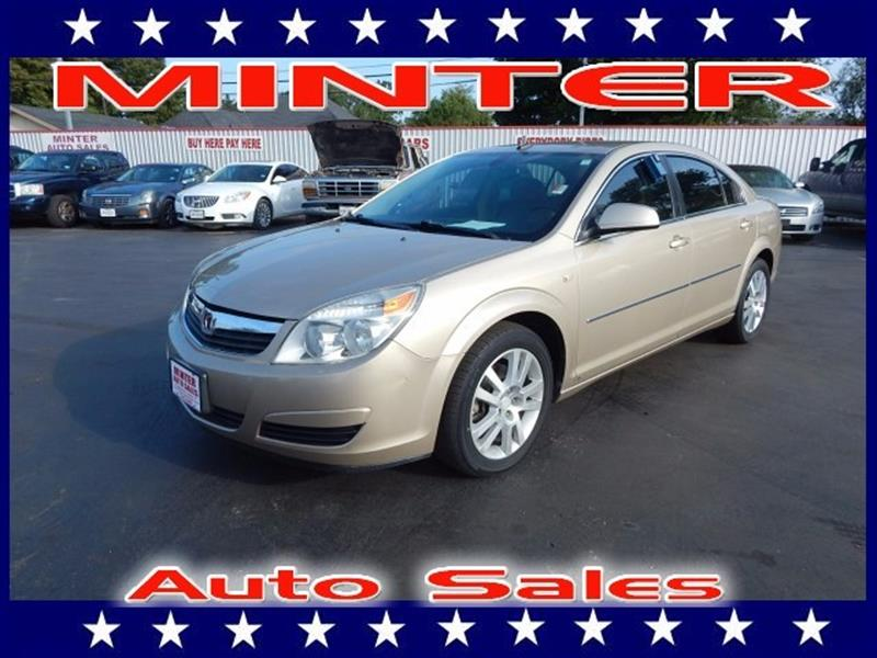 2008 SATURN AURA XE 4DR SEDAN V6 golden cashmere air conditioning single-zone manualconsole fr