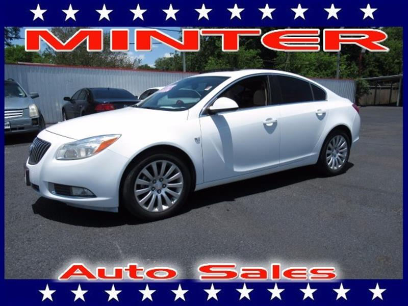 2011 BUICK REGAL CXL 4DR SEDAN WRL2 white air conditioning dual-zone automatic climate control