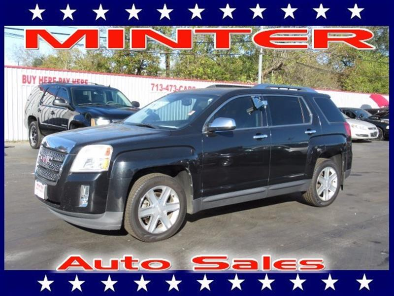 2011 GMC TERRAIN SLT 2 4DR SUV onyx black 5 passenger seatingair conditioning single-zone autom