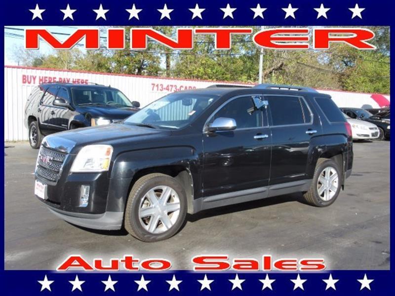 2011 GMC TERRAIN SLT 2 4DR SUV onyx black 5 passenger seatingair conditioning single-zone autom